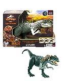 マテル ジュラシックワールド(JURASSIC WORLD) アクションフィギュア アロサウルス 【全長:30㎝】【4歳~】 GWD10 グリーン