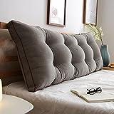 GYP ベッドクッション、大きな背もたれ大きなクッションベッドの枕ソファネックを保護するウエストピローを保護するロング100-120cm 購入 ( 色 : #2 , サイズ さいず : 100*20*50cm )