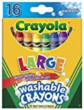 Crayola Washableクレヨン16ct Large 4x 7/ 16by Crayola LLC