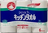 日清紡 ピーチ キッチンタオル 6ロール