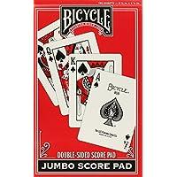 [バイシクル]Bicycle Bridge Score Pad, Jumbo 1009529 [並行輸入品]