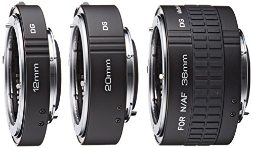 Kenko 接写リング デジタル接写リングセット ニコン Fマウント用 フルサイズ対応 12mm/20mm/36mmセット 833391