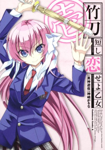 竹刀短し恋せよ乙女 (1) (角川コミックス・エース 353-3)の詳細を見る