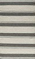 Momeni Rugs MESA0MES12BLU90C0 Mesa Collection 100% Wool Hand Woven Flatweave Transitional Area Rug 9' x 12' Blue [並行輸入品]