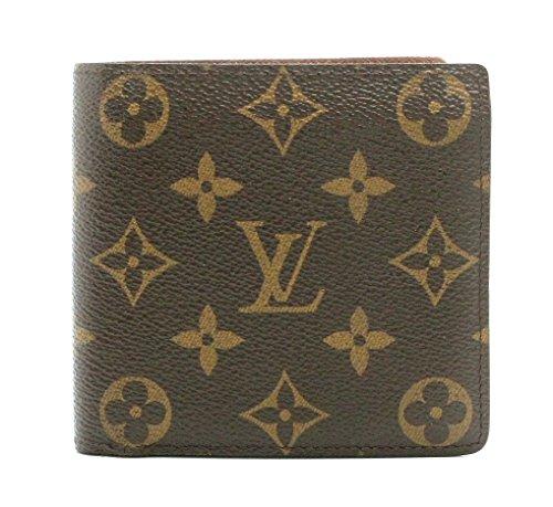[ルイ ヴィトン] LOUIS VUITTON モノグラム ポルトフォイユ マルコ 2つ折財布 M61675