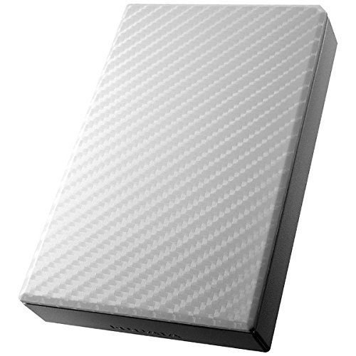 アイ・オー・データ アイ・オー・データ機器 アイ・オー・データ USB3.0/2.0対応ポータブルハードディスク「高速カクうす」 セラミックホワイト 2TB HDPT-UT2DW 1台