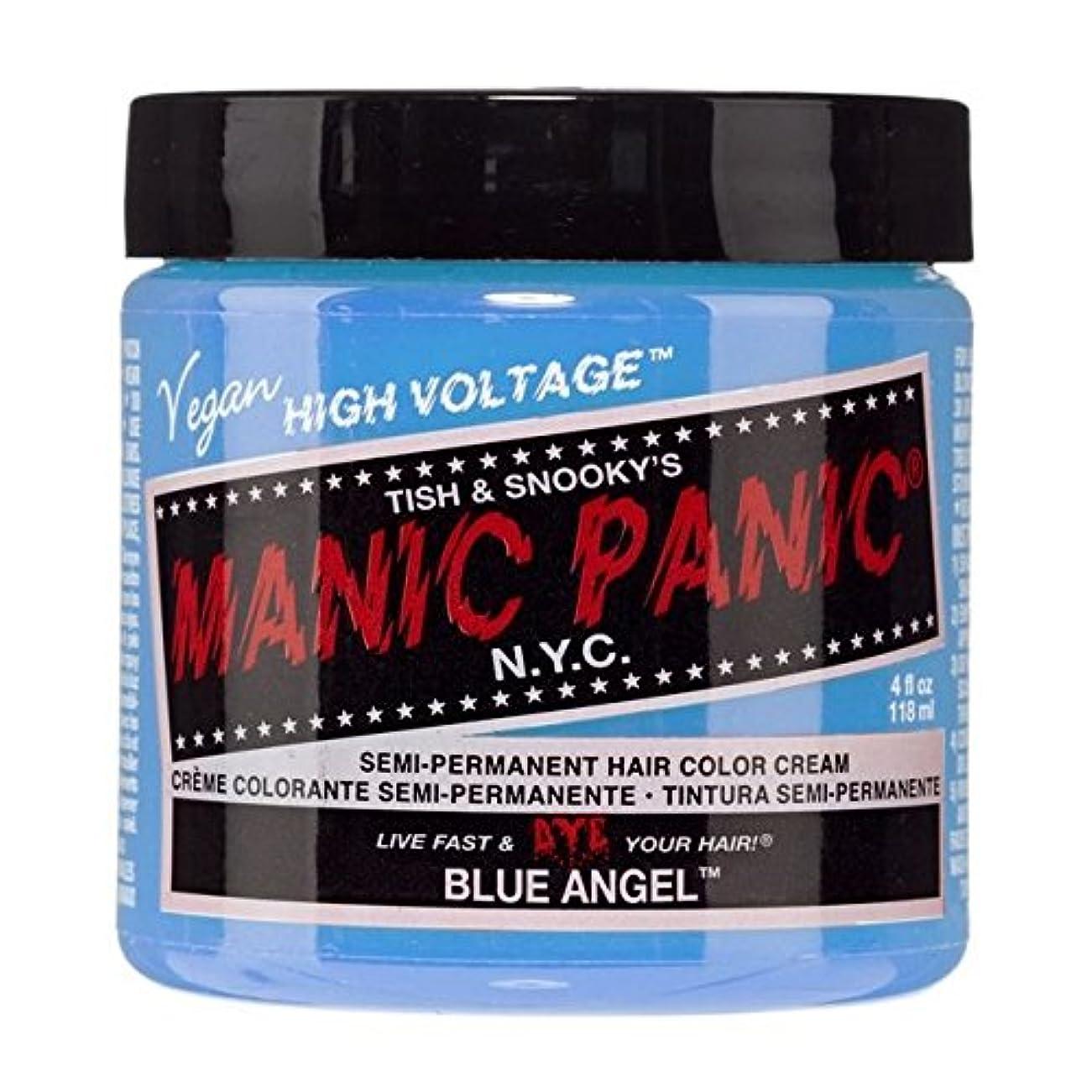 セント生き残り不正直スペシャルセットMANIC PANICマニックパニック:BLUE ANGEL (ブルーエンジェル)+ヘアカラーケア4点セット