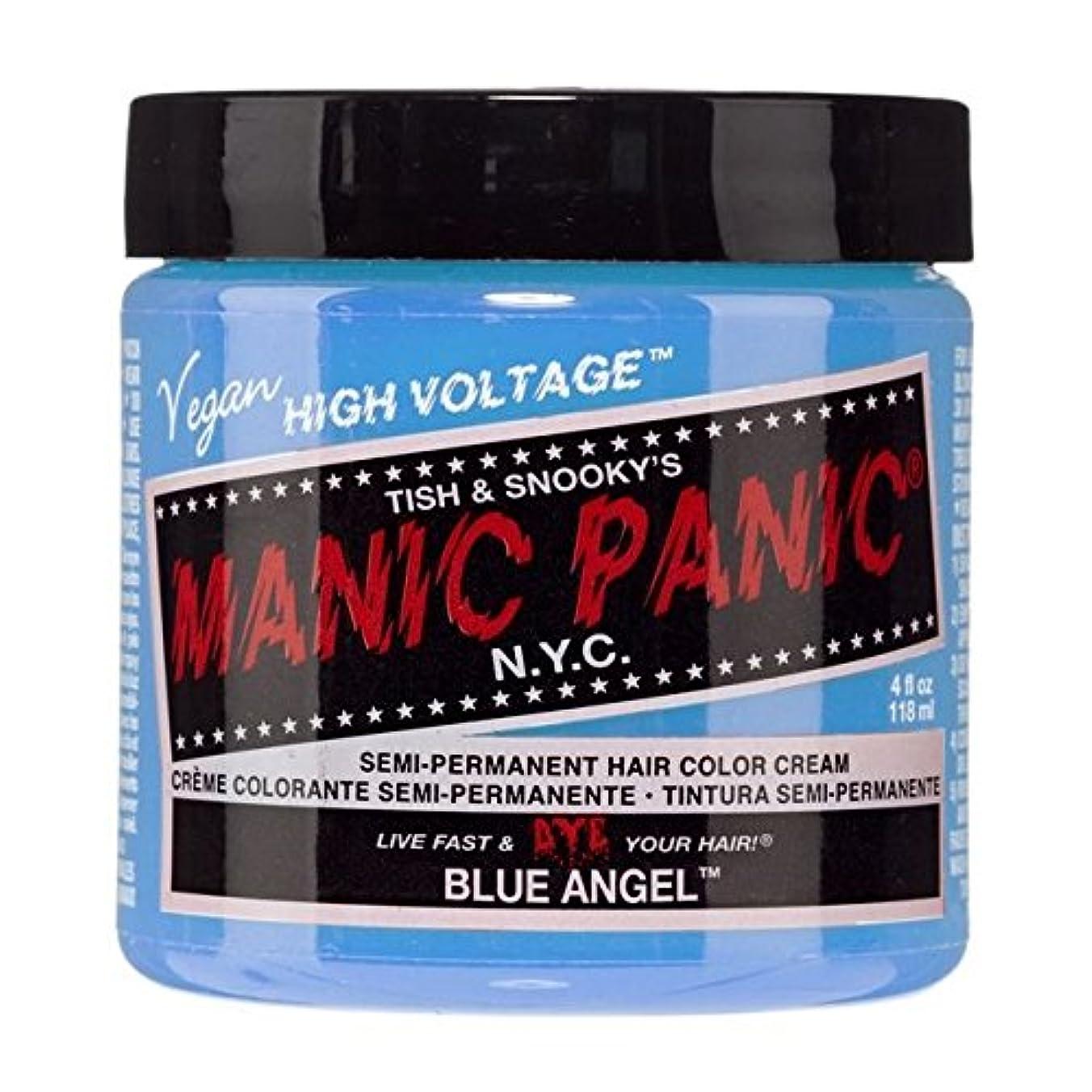 野心的側面より多いスペシャルセットMANIC PANICマニックパニック:BLUE ANGEL (ブルーエンジェル)+ヘアカラーケア4点セット