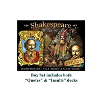 Shakespeare 'Double Deck' Playing Card Set [並行輸入品]
