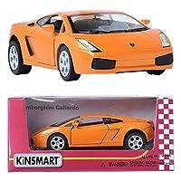 Kinsmart 1:32 Lamborghini Gallardo LP560-4 Spyder Orange ミニ車のおもちゃを表示する [並行輸入品]
