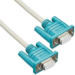 サンワサプライ RS232Cケーブル(インターリンク 9pin-9pin) 2m KR-LK2