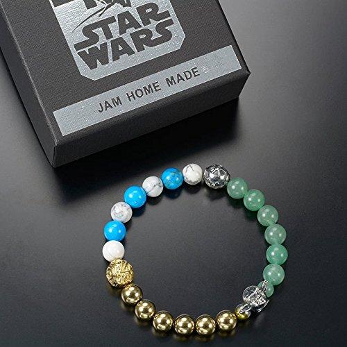 【JAM HOME MADE】ブレスレット スター・ウォーズ ヨーダ、R2-D2、C-3PO