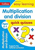 Multiplication and Division Quick Quizzes: Ages 5-7 (Collins Easy Learning Ks1)