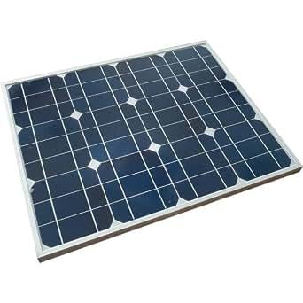ソーラーパネル 50W 単結晶 太陽光パネル