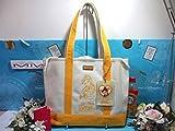 30%引 新品 サマンサベガ ディズニー 限定 美女と野獣 プリンセス ベル A4 肩掛 2way トート バッグ 鞄 サマンサタバサ マザーズバッグ