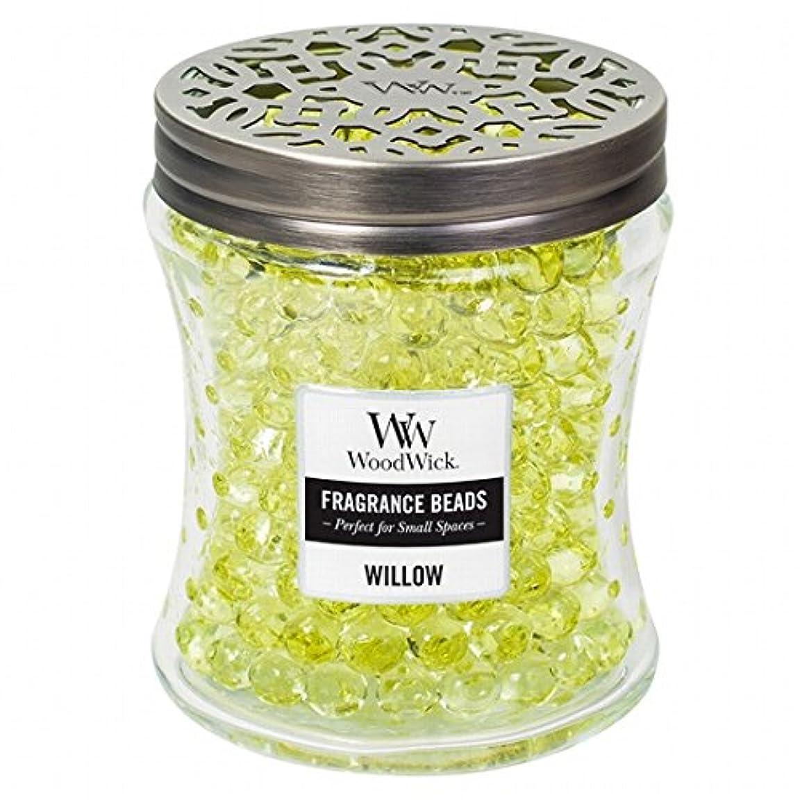 ミシン充実窓を洗うウッドウィック( WoodWick ) Wood Wickフレグランスビーズ 「 ウィロー 」W9620525