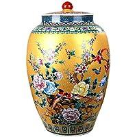 シリアルコンテナ 封印された缶陶器の貯蔵瓶ピクルスキムチジャーキッチン購入箱キャンディジャー コンテナ (サイズ さいず : 40cm)