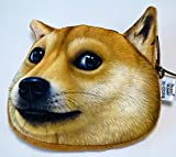 NDHCI 犬猫 3D小銭入れ ポーチ 小物入れ二も! 柴犬