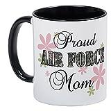 CafePress–AIR FORCE MOM [ FLカモ]–Uniqueコーヒーマグカップ、コーヒーカップ S 0787456086BC673