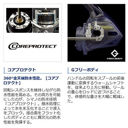 シマノ (SHIMANO) スピニングリール 15 ストラディック C2000HGS