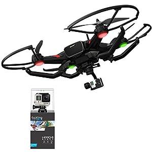 【国内正規品】TTRobotix ドローン Ghost+ ジンバルセット& GoPro HERO4 4K 空撮 360°パノラマ撮影 ブラック ATT-G-03