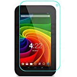 【国産ガラス素材】【riseシリーズ】Toshiba Tablet AT7-B618 AT7-B619 液晶保護強化ガラスフィルム 硬度9H 超薄0.33mm(総厚0.4mm) 2.5D ラウンドエッジ加工済 さらさら表面コート 指紋防止 防汚コーティング処理 飛散防止処理高品質ガラスフィルム