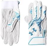 [アンダーアーマー] 手袋 EBB2219 メンズ ホワイト/エレクトリックブルー 日本 XL-(日本サイズXL相当)