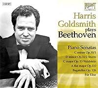 Piano Sonatas by Harris Goldsmith (2013-05-03)