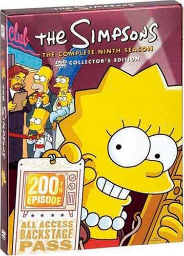 ザ・シンプソンズ シーズン9 DVDコレクターズBOXの詳細を見る