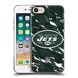 オフィシャル NFL カモフラージュ ニューヨーク・ジェッツ ロゴ iPhone 7 / iPhone 8 専用ソフトジェルケース