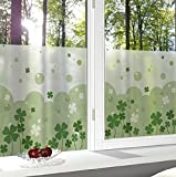 Generic 40X40Cm Lovely Frosted Glass Window Decorative Film Privacy Glass Stickers Bedroom Bathroom Office Home Decor