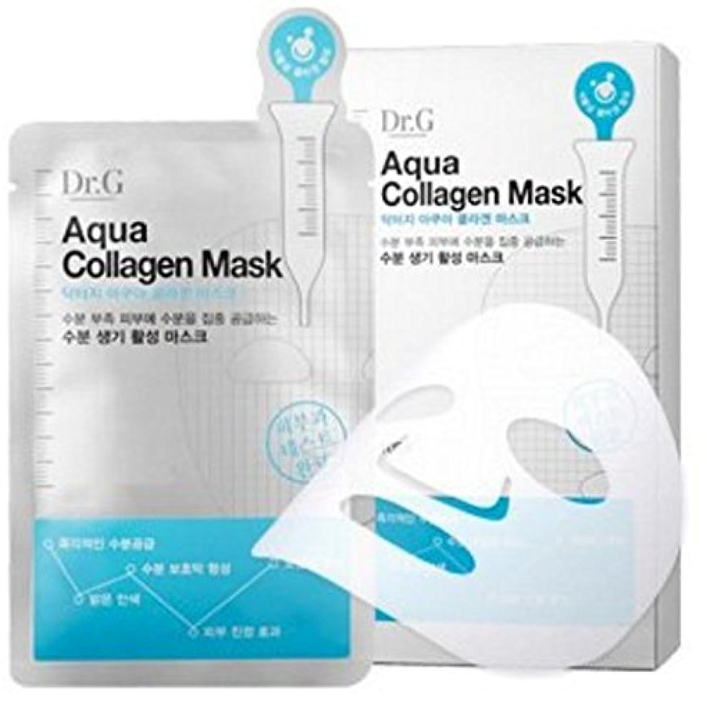 スロットアカウント炭素Dr. G [ドクター ジー] アクア コラーゲン マスク 10枚 [並行輸入品]