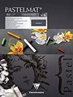 (30 x 40 cm, Card Pad No 6) - Pastelmat Pastel Card Pad No 6, 360 g, 30 x 40 cm, 12 Sheets - Assorted Colours