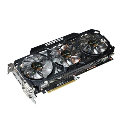 GIGABYTE グラフィックボード GeForce GTX760 OCモデル PCI-Ex16 4GB WINDFORCE3X GV-N760OC-4GD