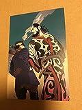 ゴールデンカムイ comic zin 特典 ポストカード イラストカード 9 杉元 キロランケ
