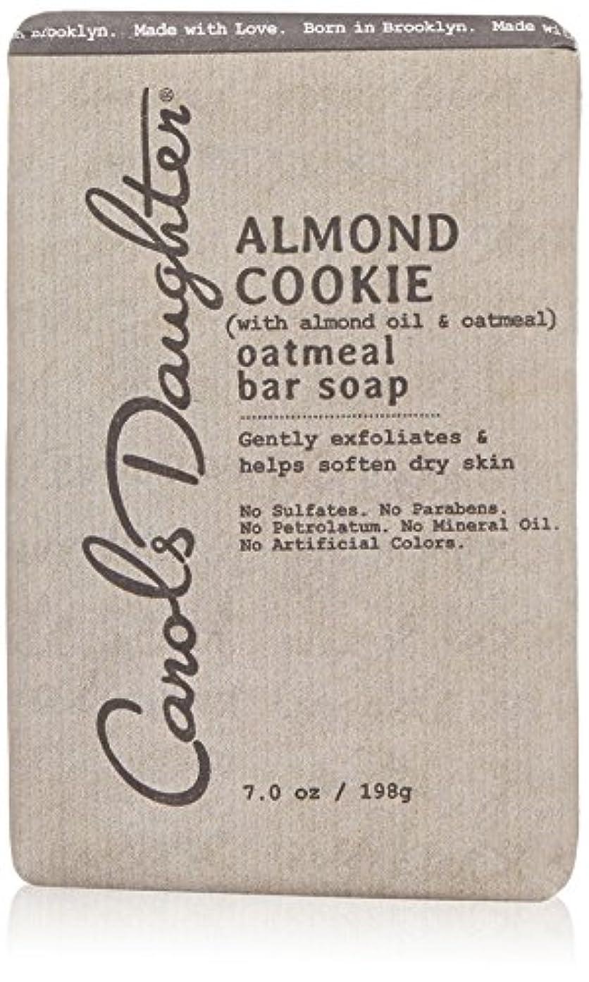 羽開梱推進キャロルズドーター Almond Cookie Oatmeal Bar Soap 198g/7oz並行輸入品
