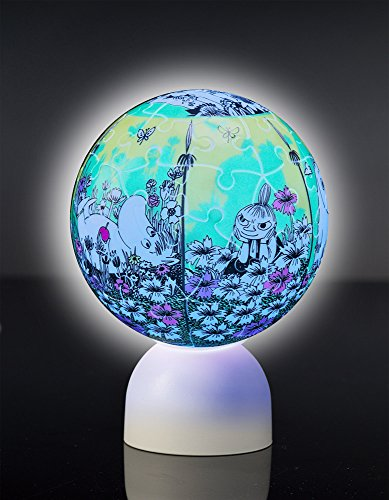 60ピース 光る球体パズル パズランタン ムーミン谷でピクニック