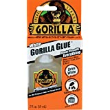 Gorilla White Glue, Waterproof, 2 ounce Bottle, White