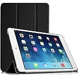 Fintie Apple iPad mini / iPad mini 2 Retina / iPad mini 3 レザー ケース カバー 超薄型 最軽量 スタンド機能 オートスリープ機能 三つ折タイプ iPad mini 3/2/1 専用 (ブラック)