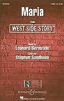 Leonard Bernstein: Maria (West Side Story) - TTBB/レナード・バーンスタイン: マリア (ウエスト・サイド物語) 男声四部合唱. For 合唱, 男声四部合唱(TTBB), ピアノ伴奏