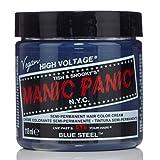 スペシャルセットMANIC PANICマニックパニック:BLUE STEEL (ブルースティール)+ヘアカラーケア4点セット