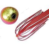 JACKALL(ジャッカル) タイラバ ビンビン玉 スライド 120g ピンクゴールド/レッドゴールドフレーク