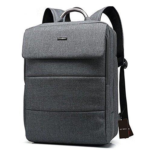 KU-MAX カジュアル ビジネス リュック リュックサック バッグパック バッグ ショルダーバッグ 通勤通学 収納簡単 出張 多機能 15.6インチ収納可 PCバッグ KU179-5