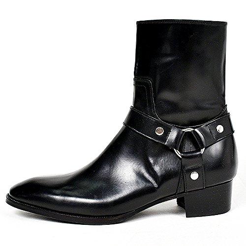 (ヴァンプ) VAMP 黒 レザー リング ブーツ 43 27.5cm 28.0cm