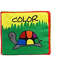 xuanou柔らかい布帳赤ちゃんインテリジェンス開発識別色と動物Cognize Book