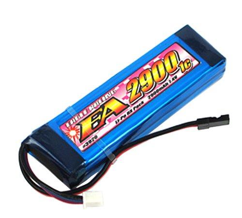 Li-Poバッテリー EA2900/7.4V1C送信機用平型サイズ 3926