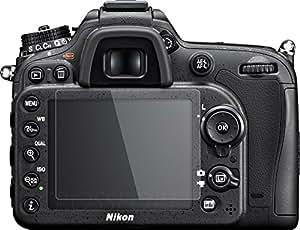 クロスフォレスト Nikon D7200/D7100用ガラスフィルム【日本製ガラス使用】ラウンドエッジ Glass Film「CF-GCND7100」液晶保護フィルム