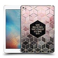 オフィシャルElisabeth Fredriksson Believe 2 タイポグラフィ iPad Pro 9.7 (2016) 専用ハードバックケース