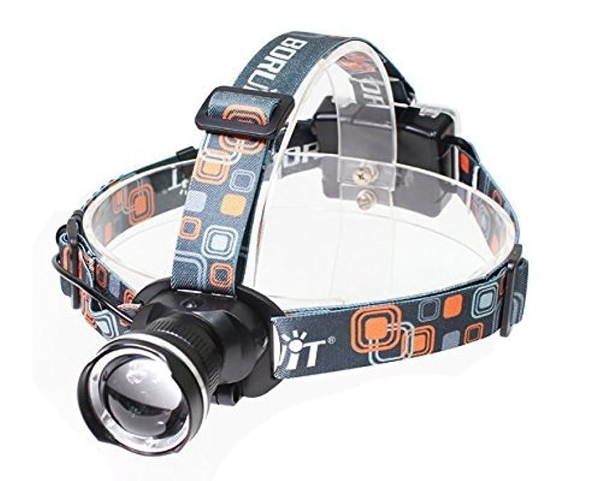 機動マイコン到着Succul(R) LEDヘッドライト 懐中電灯 乾電池 3モード ズーム調整可能 1800LM CREE XML T6 ヘッドランプ 防災 調節可 高光量 軽量
