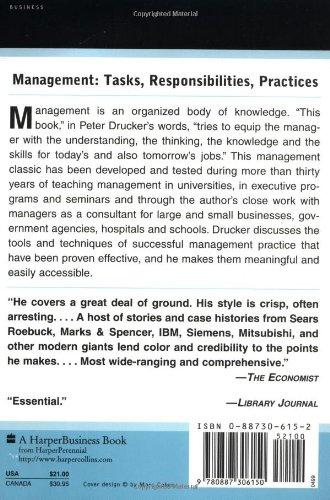 『Management: Tasks, Responsibilities, Practices』の1枚目の画像